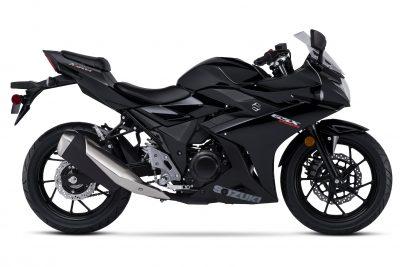 2018 Suzuki GSX250R Katana First Look - right side black
