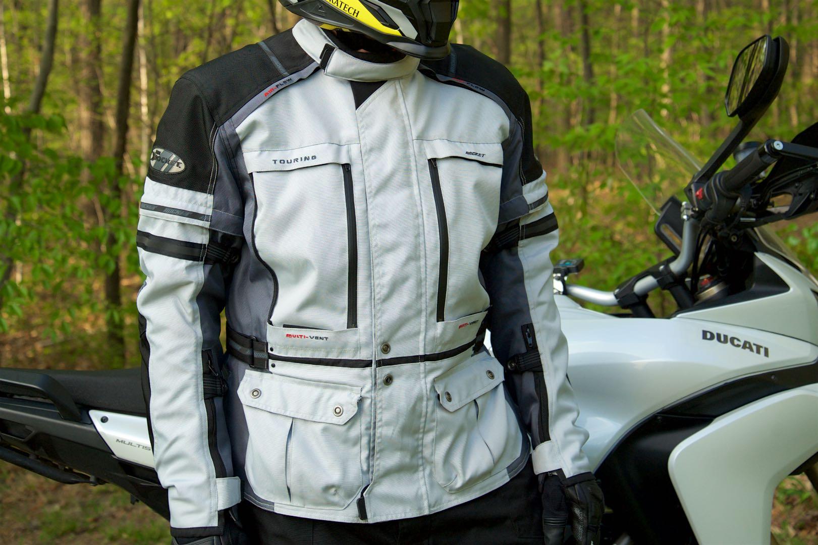Joe Rocket Ballistic Adventure Jacket Great for Rain