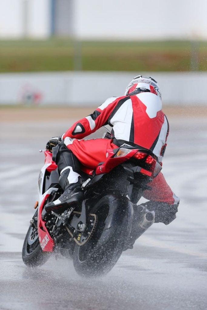 Motorcycle rain riding techniques