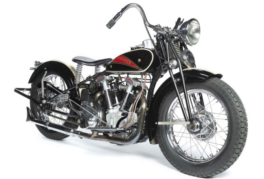 1937 Crocker Small Tank Motorcycle