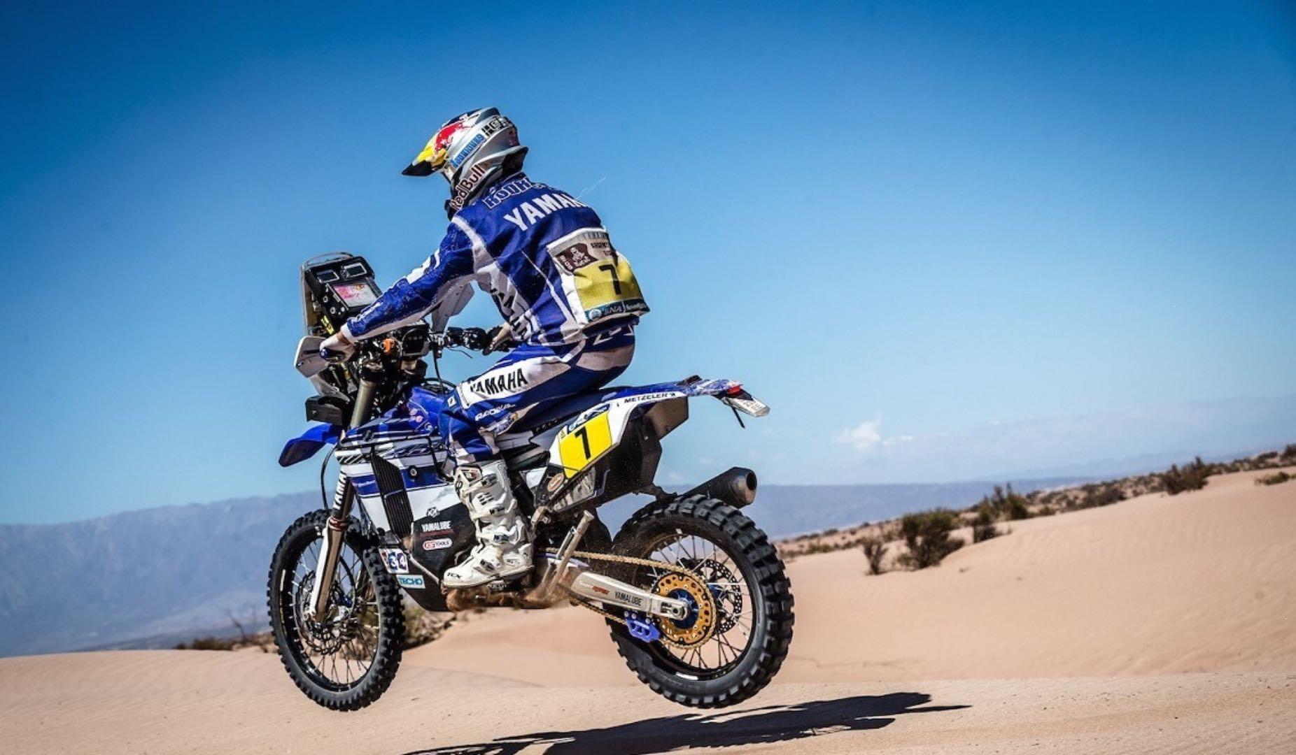 Helder Rodrigues Leads Yamaha's 2017 Dakar Rally Team
