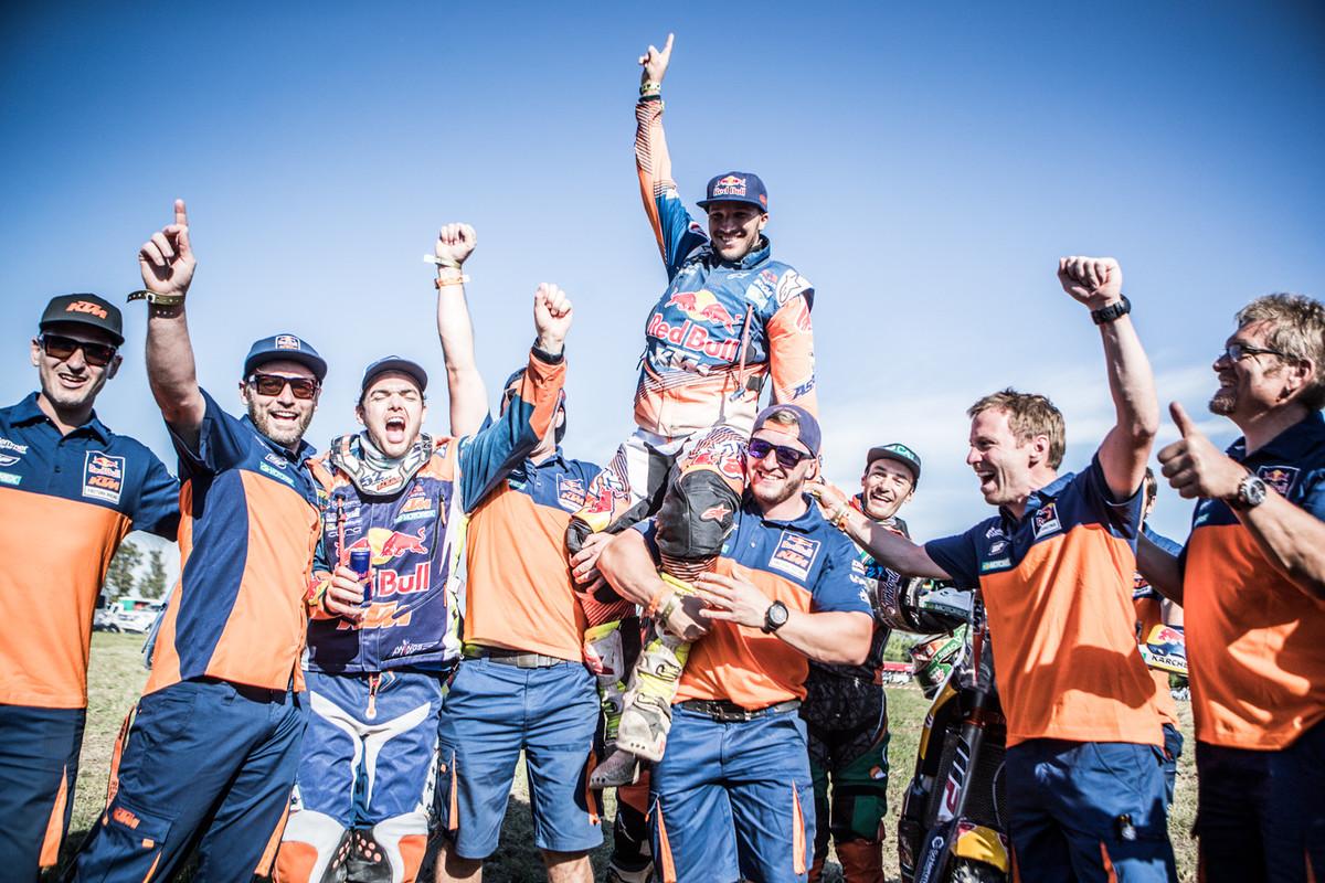 Sam Sunderland Claims Dakar 2017 Victory