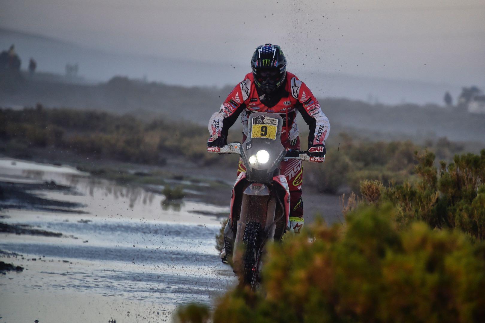 2017 Dakar Rally Motorcycles stage 8 results, Ricky Brabec