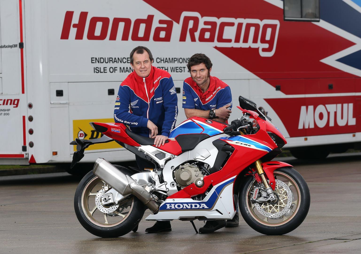John McGuinness & Guy Martin Team Up on Honda CBR1000RR SP2