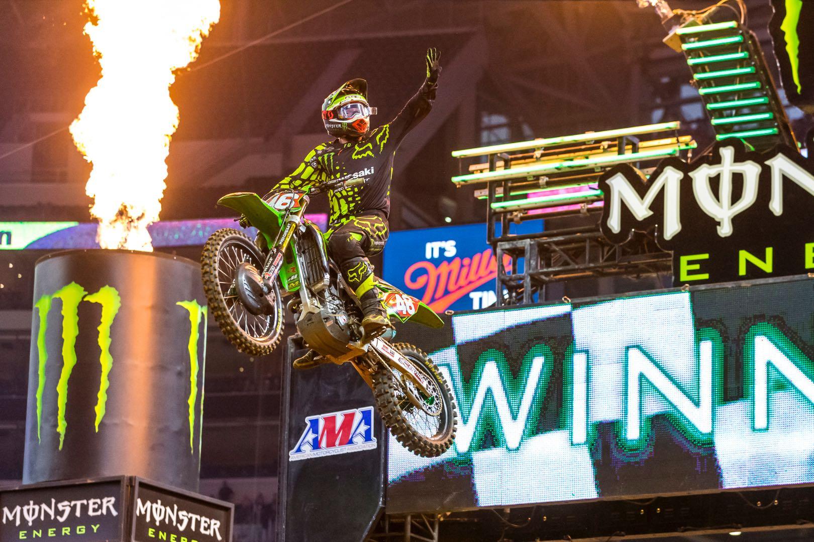 2017 Arlington 250SX Results: Kawasaki's Justin Hill