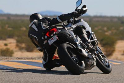 Ducati Multistrada on track