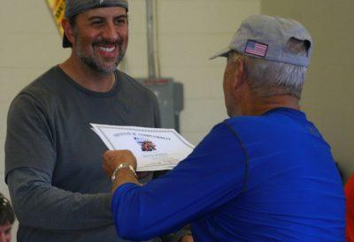 Dave Bobber Training Complete