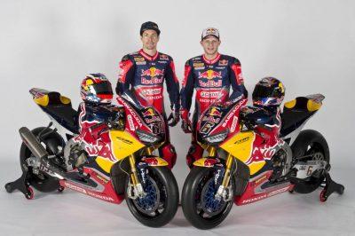 Red Bull Honda World Superbike CBR1000RR SP2 Unveiled | Photos