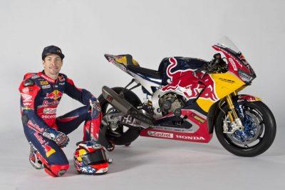 Red Bull Honda World Superbike CBR1000RR SP2 Nicky Hayden