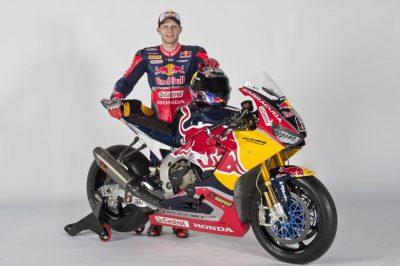 Red Bull Honda World Superbike CBR1000RR SP2 stefan bradl
