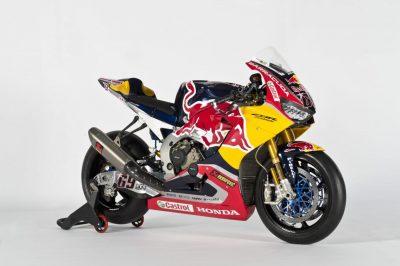 Red Bull Honda World Superbike CBR1000RR SP2 exhaust