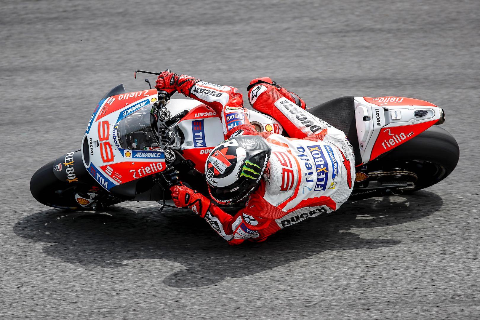 Ducati's Jorge Lorenzo, 2017 Sepang MotoGP Test