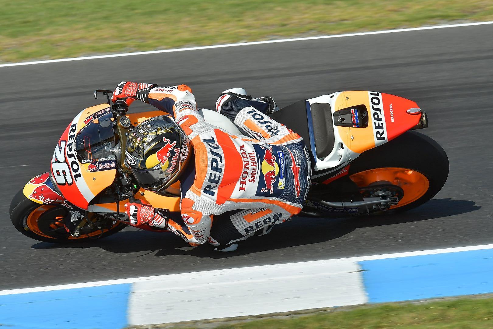 2017 Phillip Island MotoGP Test: Honda's Dani Pedrosa
