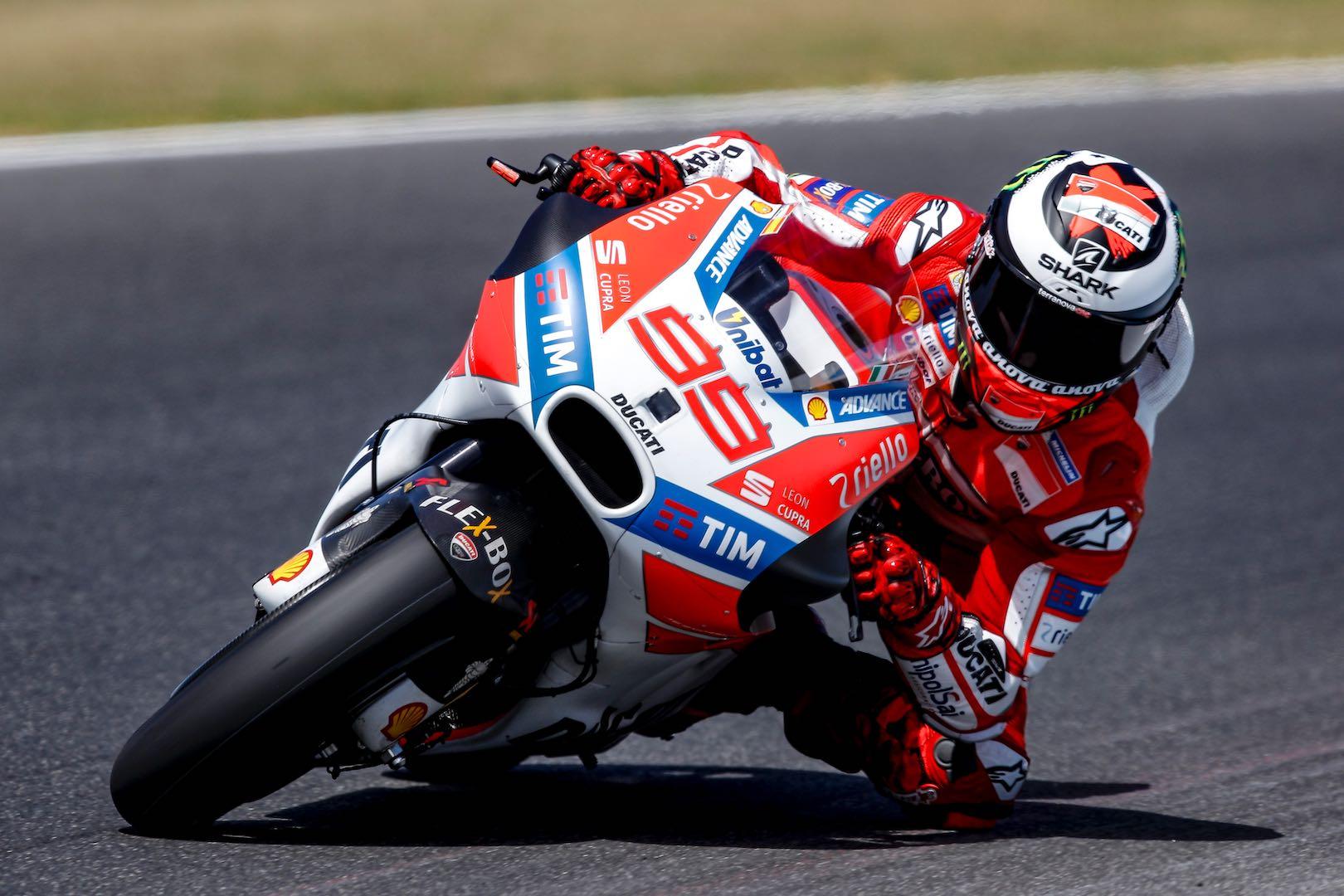2017 Phillip Island MotoGP Test: Ducati's Jorge Lorenzo