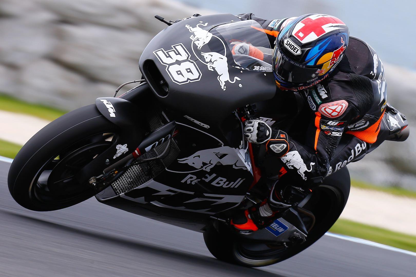 2017 Phillip Island MotoGP Test: KTM's Bradley Smith