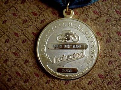 Burt Munro inducted ama hall of fame