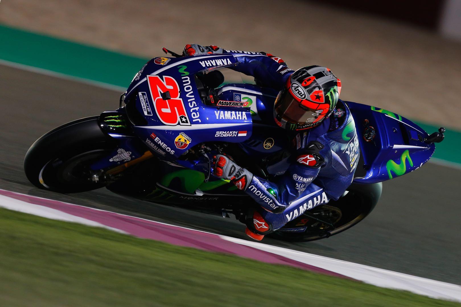 2017 Qatar MotoGP Practice Results | Vinales Untouchable Once Again