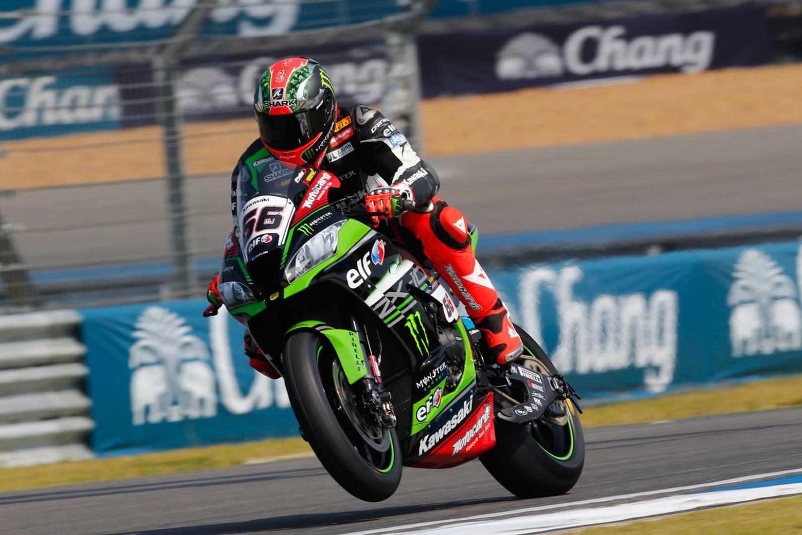 2017 Thailand World Superbike Friday Practice: Kawasaki's Tom Sykes