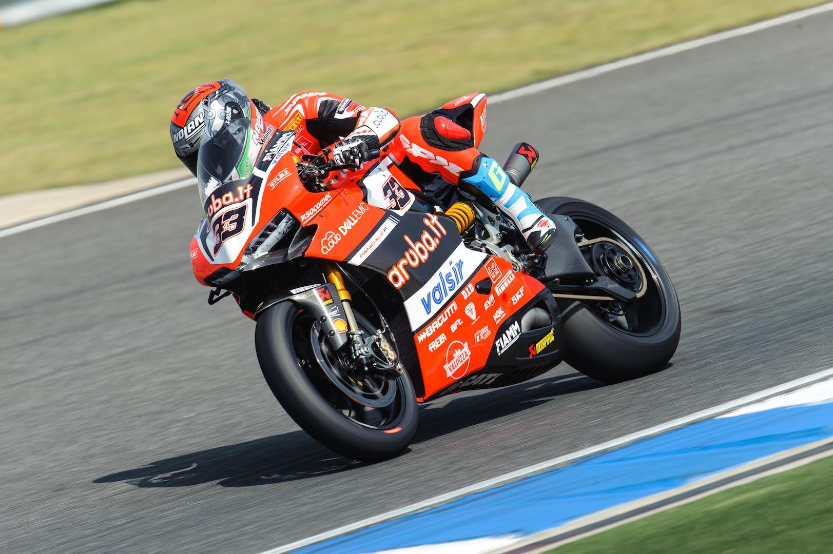 2017 Thailand World Superbike Friday Practice: Ducati's Marco Melandri