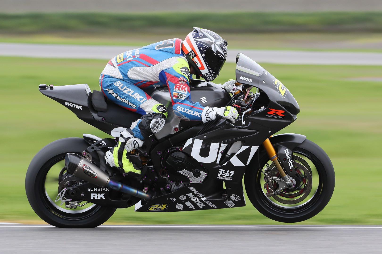 2017 Thunderhill MotoAmerica Testing: Suzuki's Elias Fastest