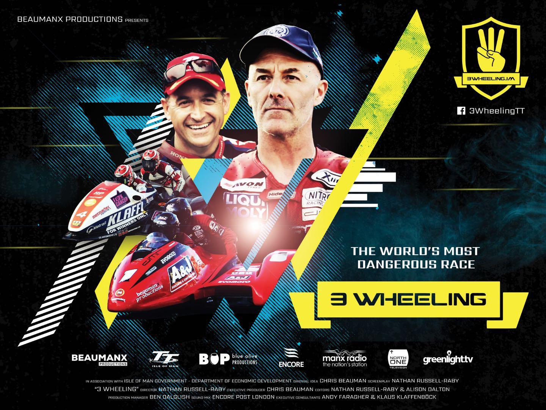 '3 Wheeling' Movie Set to Highlight Isle of Man TT Sidecar Racing