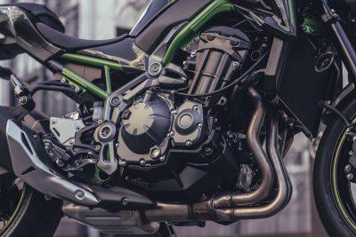 2017 Kawasaki Z900 engine horsepower