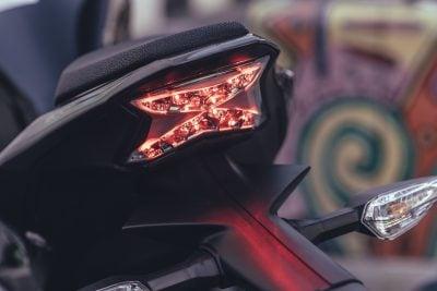 2017 Kawasaki Z900 LED rear lights