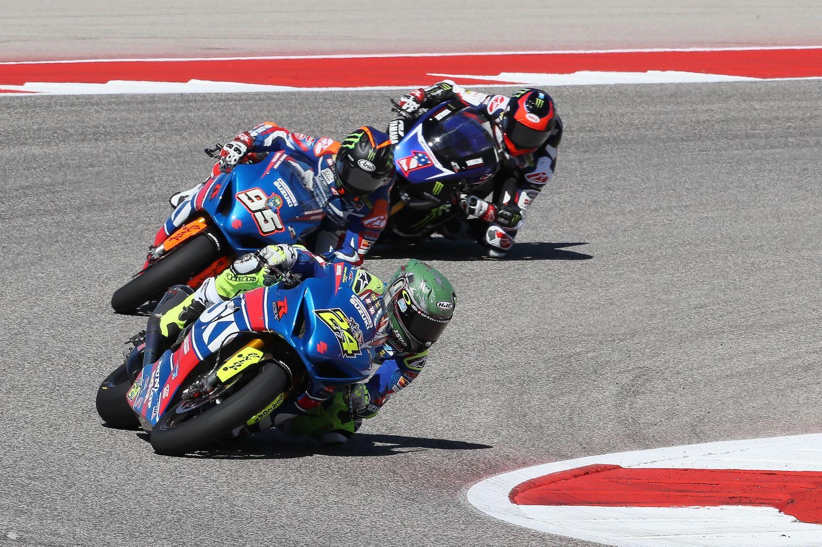 2017 Austin MotoAmerica Results: Suzuki's Elias Sweeps COTA…Again