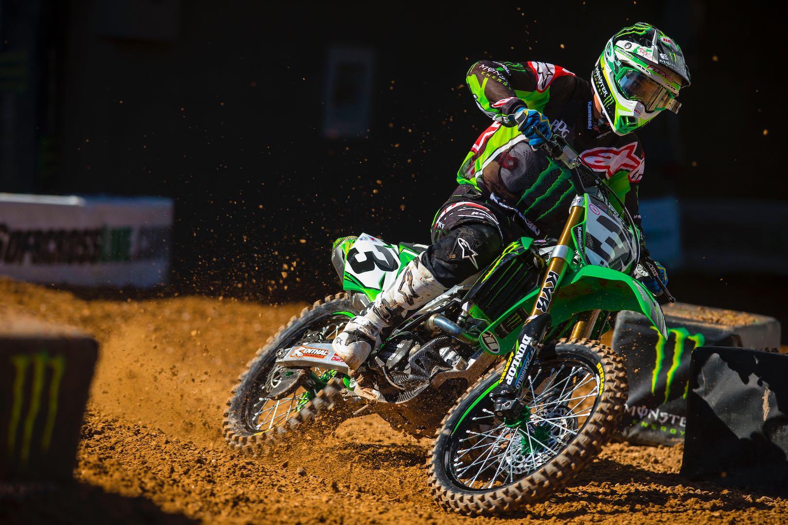 Supercross Eli Tomac Extends Monster Energy Kawasaki Contract