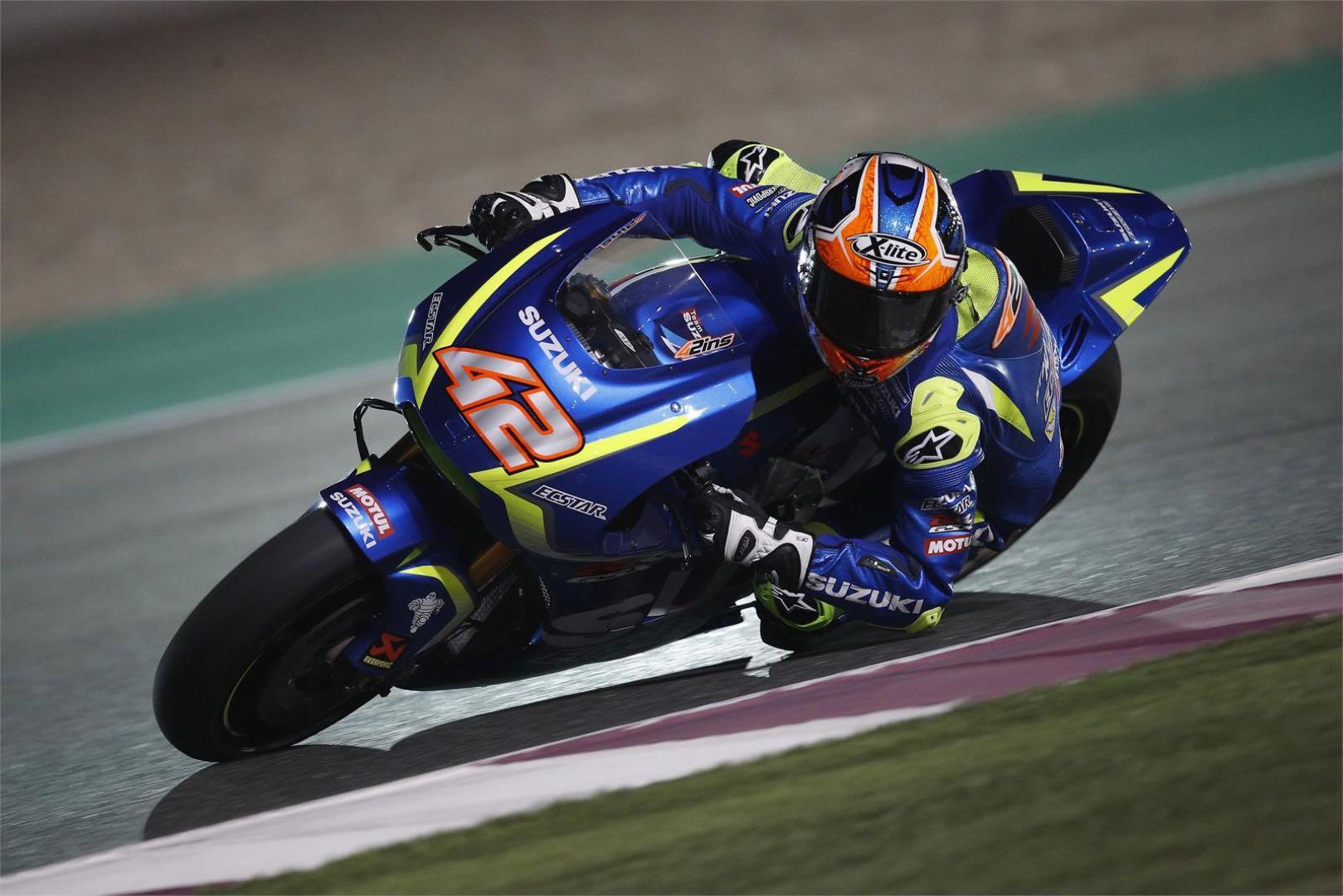 Suzuki's Alex Rins Cleared to Ride at Argentina MotoGP