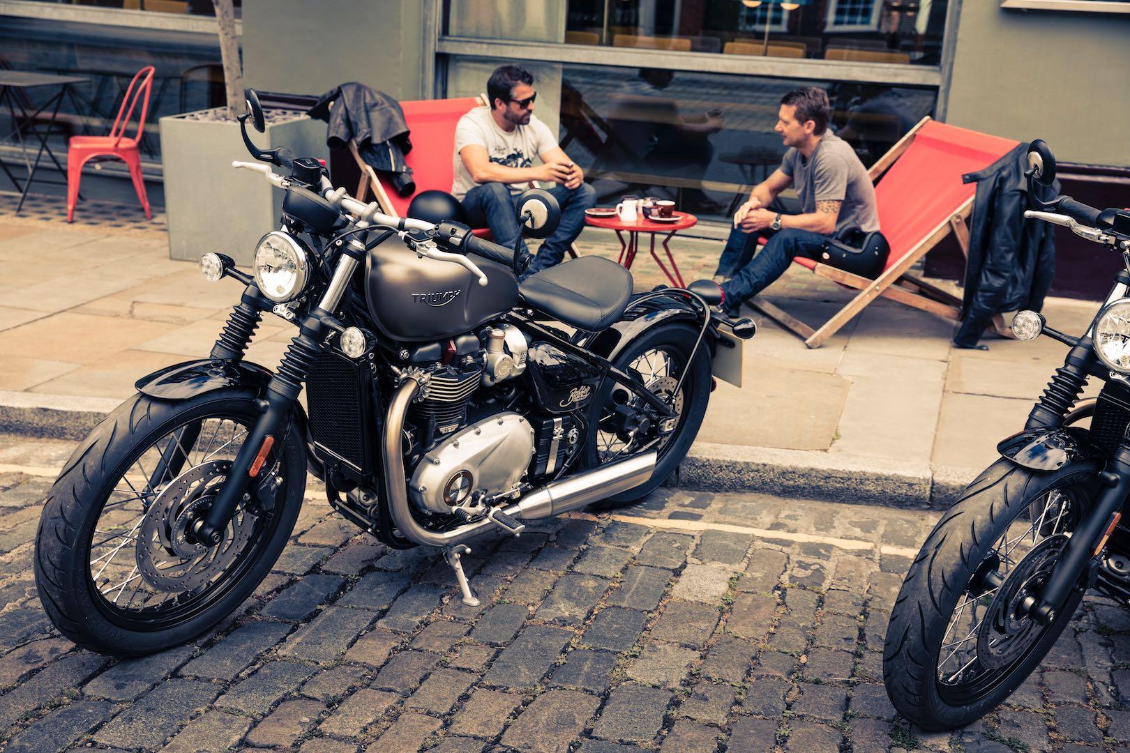 Triumph Bonneville Bobber: Most Successful Selling New Model