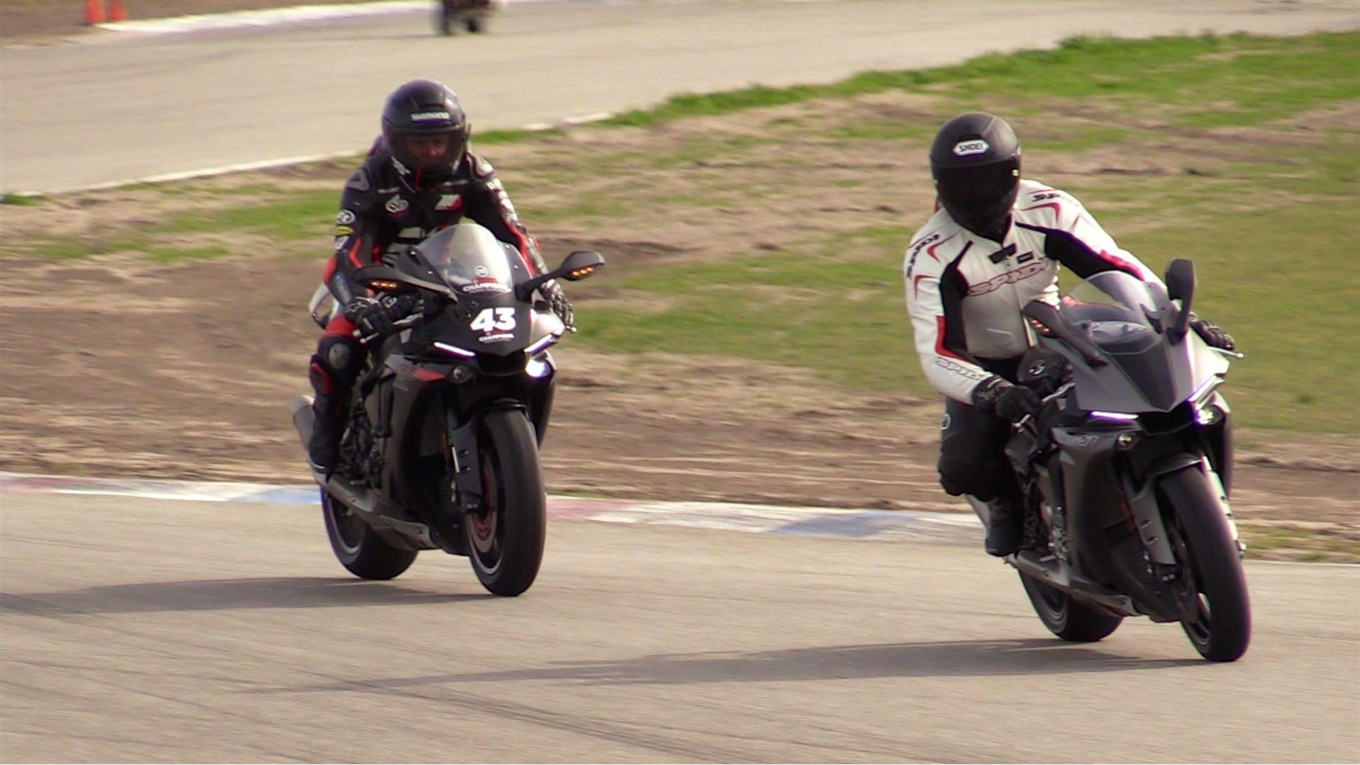 Yamaha Champions Riding School author rides