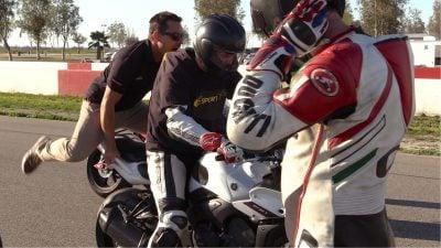 Yamaha Champions Riding School students