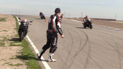 Yamaha Champions Riding School last drills