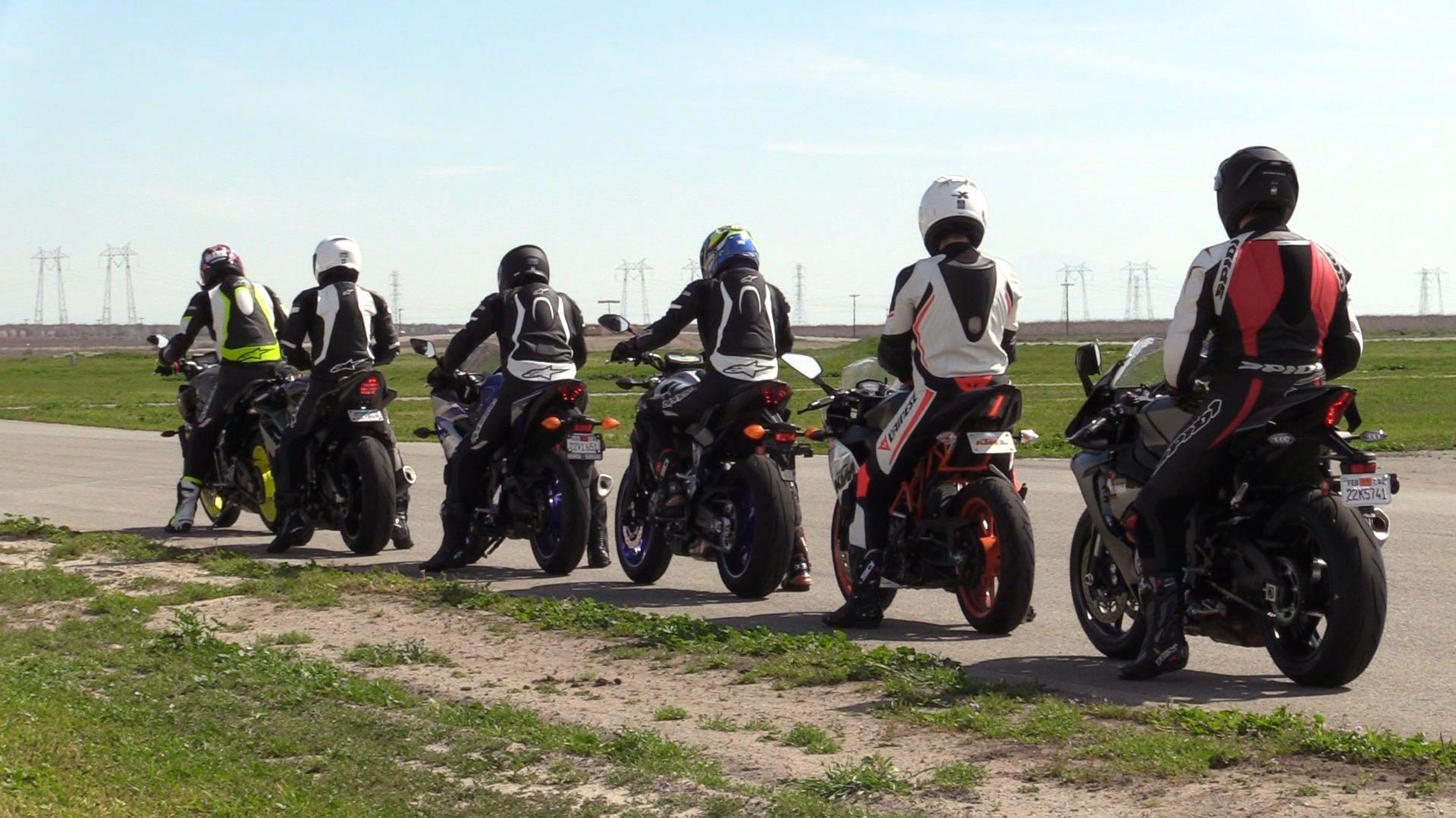 Yamaha Champions Riding School Grid Lineup