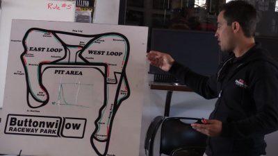 Yamaha Champions Riding School track map
