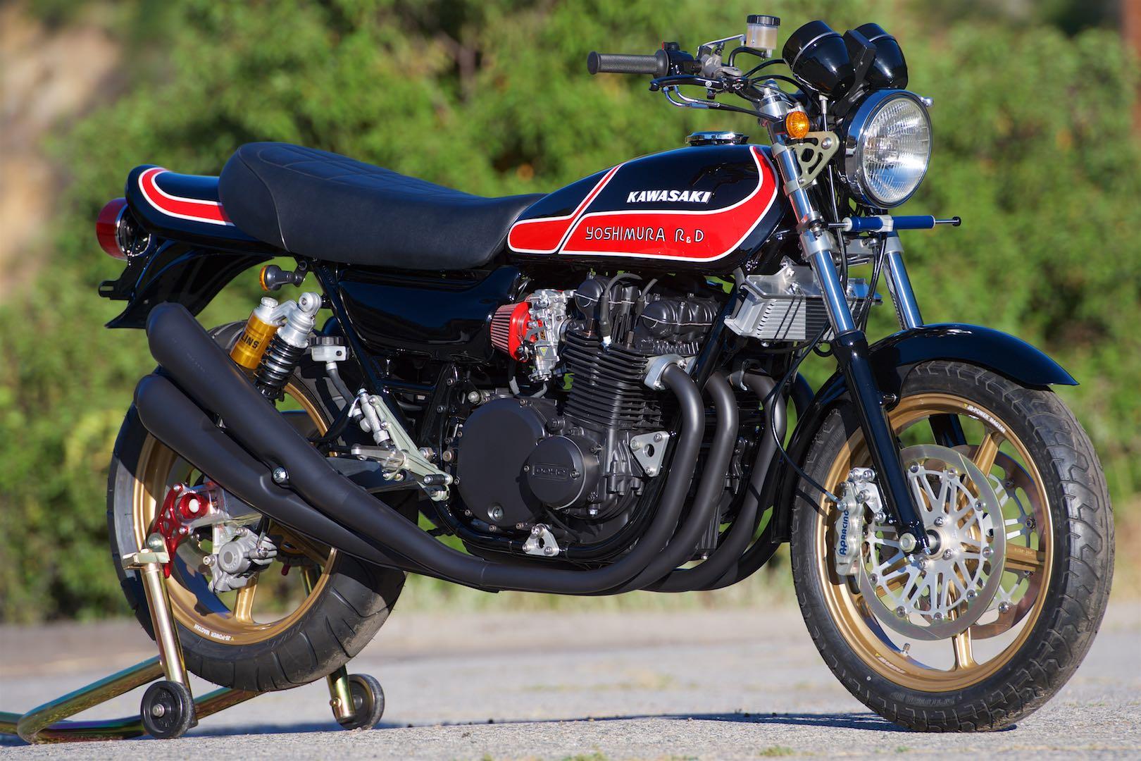 1976 Kawasaki KZ900 custom motorcycle