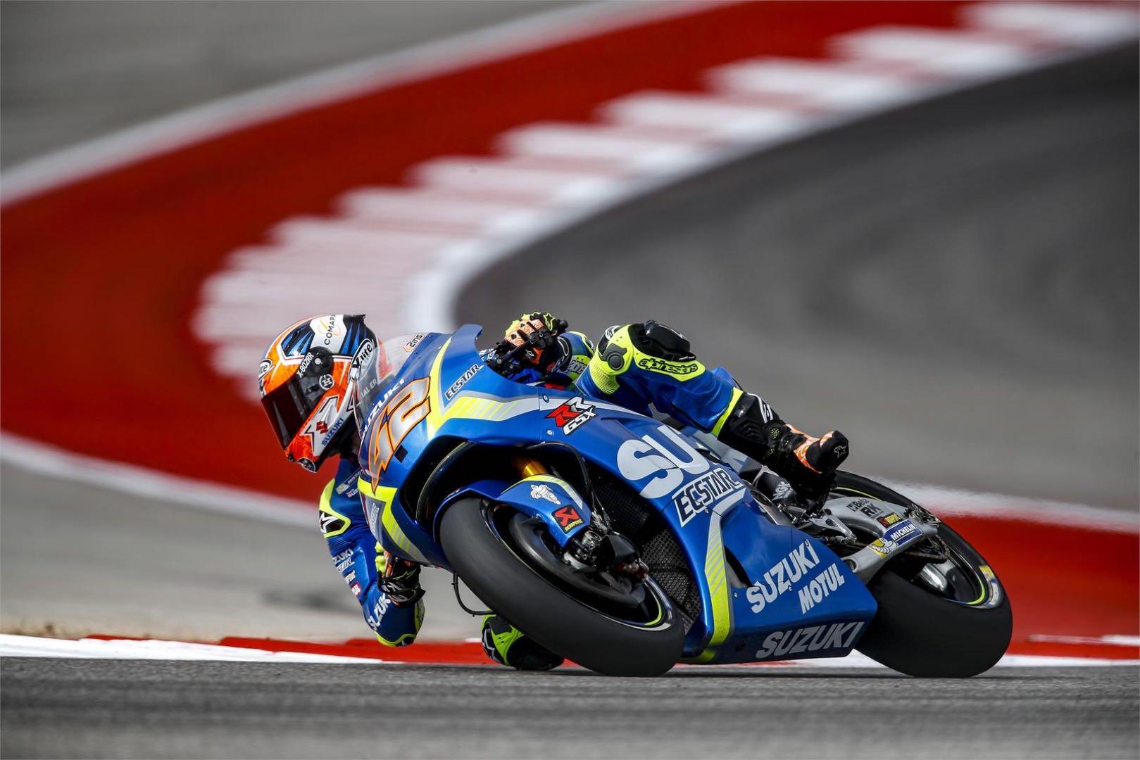 Suzuki MotoGP's Alex Rins Injury Update: Titanium Installed, Rehab Begins
