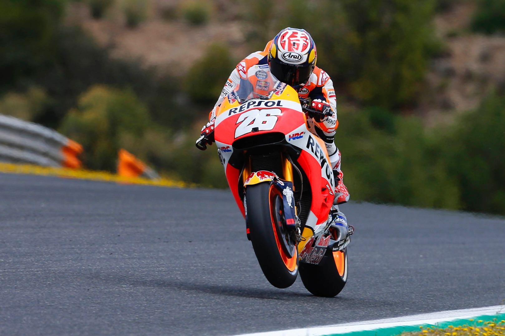 Jerez MotoGP Friday Practice Results: Honda's Dani Pedrosa