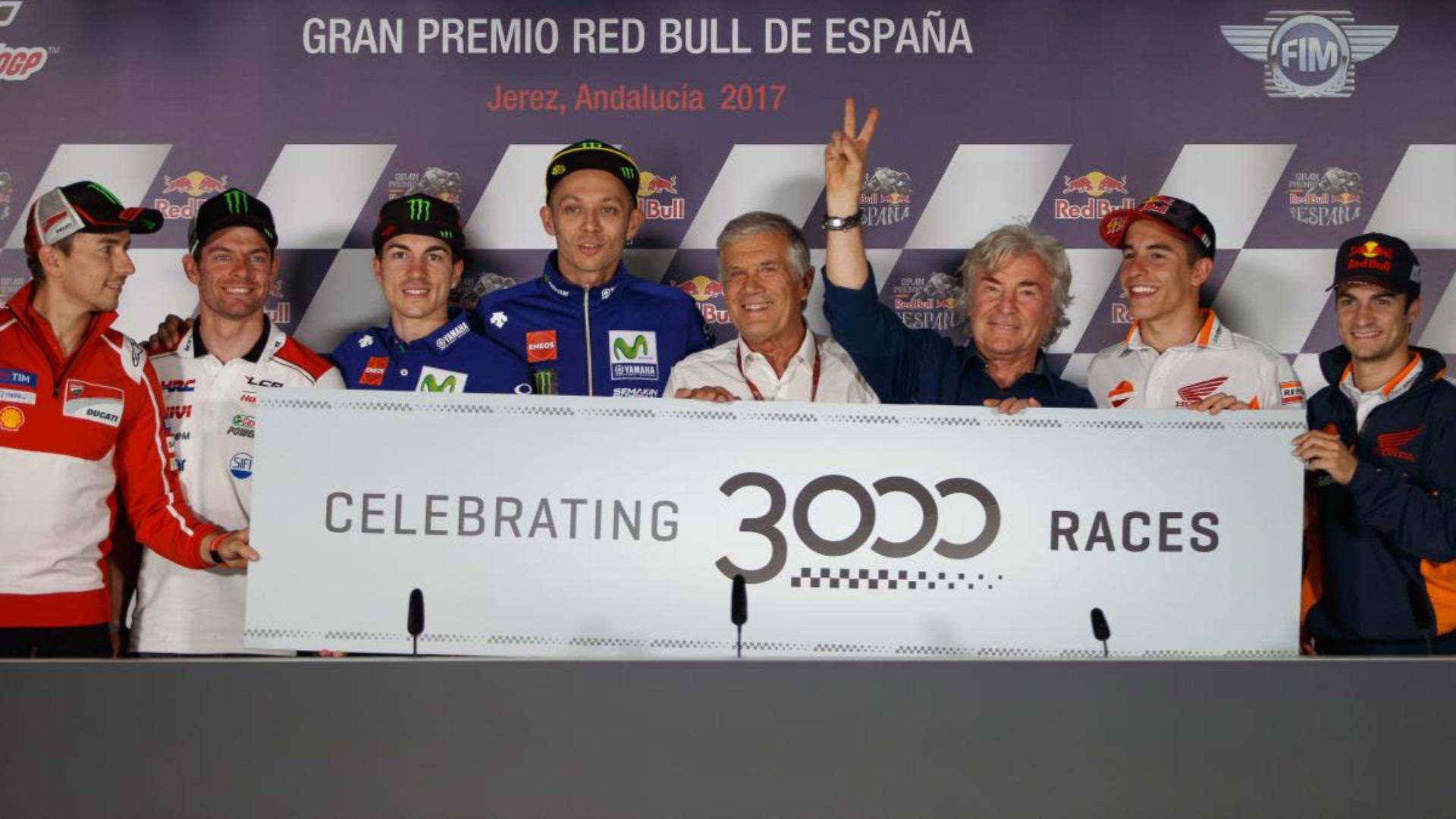 2017 Jerez MotoGP Celebrates 3,000th Grand Prix Anniversary