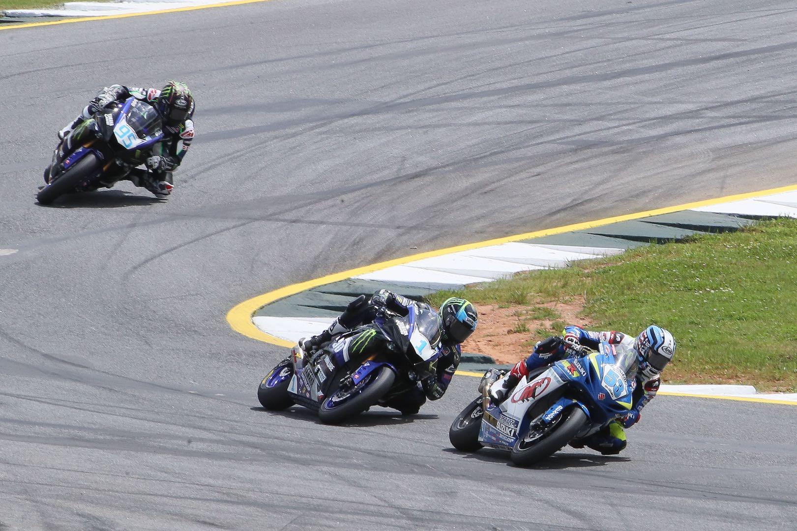 2017 Road Atlanta MotoAmerica Results: Suzuki's Valentine Debise leads Supersport class