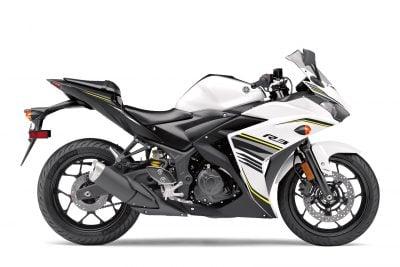 2017 Yamaha YZF-R3 white