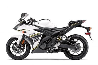 2017 Yamaha YZF-R3 white/black