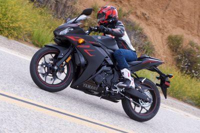 2017 Yamaha YZF-R3 test