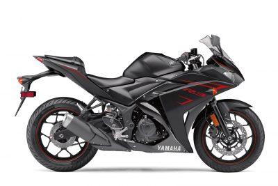 2017 Yamaha YZF-R3 black
