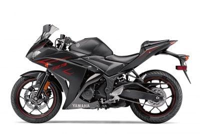 2017 Yamaha YZF-R3 black/red