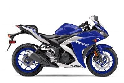 2017 Yamaha YZF-R3 blue