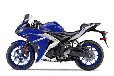 2017 Yamaha YZF-R3 blue/white