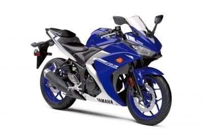 2017 Yamaha YZF-R3 vs cbr