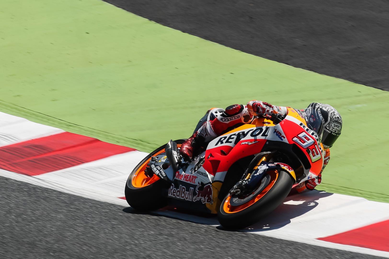 2017 Catalunya MotoGP Test: Honda's Marc Marquez